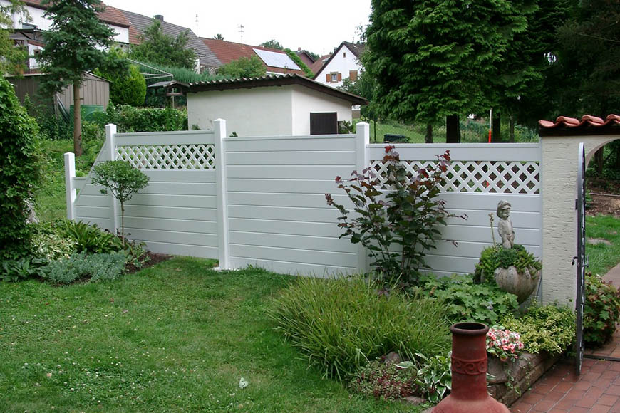 Sichtschutz Fur Terrasse Aus Kunststoff  Sichtschutz HolzKunststoff