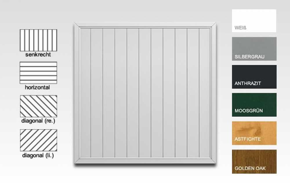 sichtaflex sichtschutz gerade sichtschutzzaun. Black Bedroom Furniture Sets. Home Design Ideas