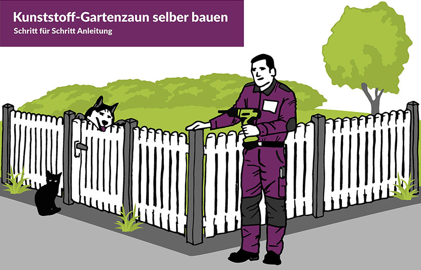 Ratgeber Gartenzaun Selber Bauen