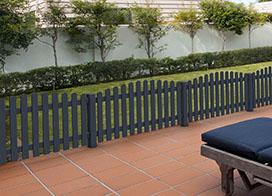 Gartenzaun Vorgartenzaun Aus Kunststoff Online Kaufen