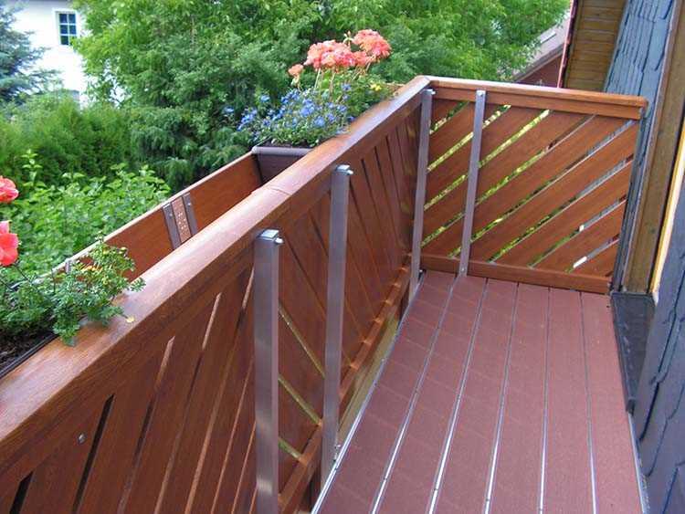 Relativ Golden Oak (Profile) : Balkonbrett Kunststoff Golden Oak DB79