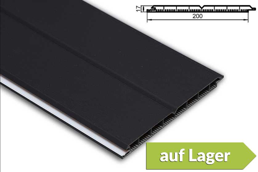 pvc torf llpaneele torf llung kunststoff anthrazit pvc. Black Bedroom Furniture Sets. Home Design Ideas