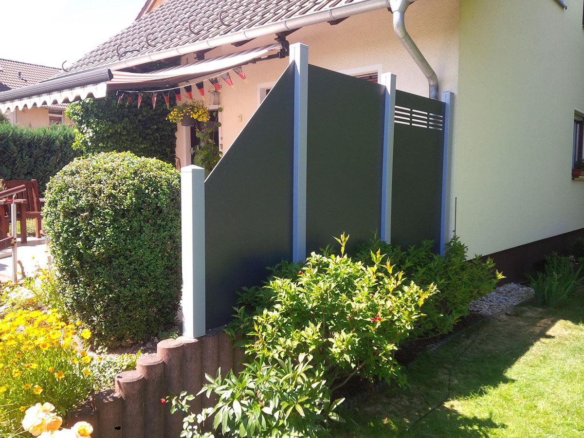 Terrassen Sichtschutz Kunststoff DN38 – Hitoiro