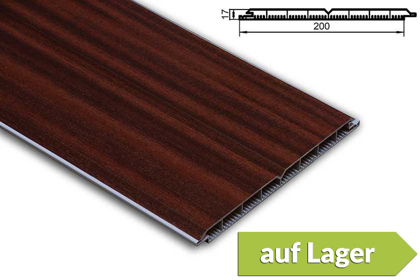 pvc torf llpaneele torf llung kunststoff mahagoni pvc. Black Bedroom Furniture Sets. Home Design Ideas