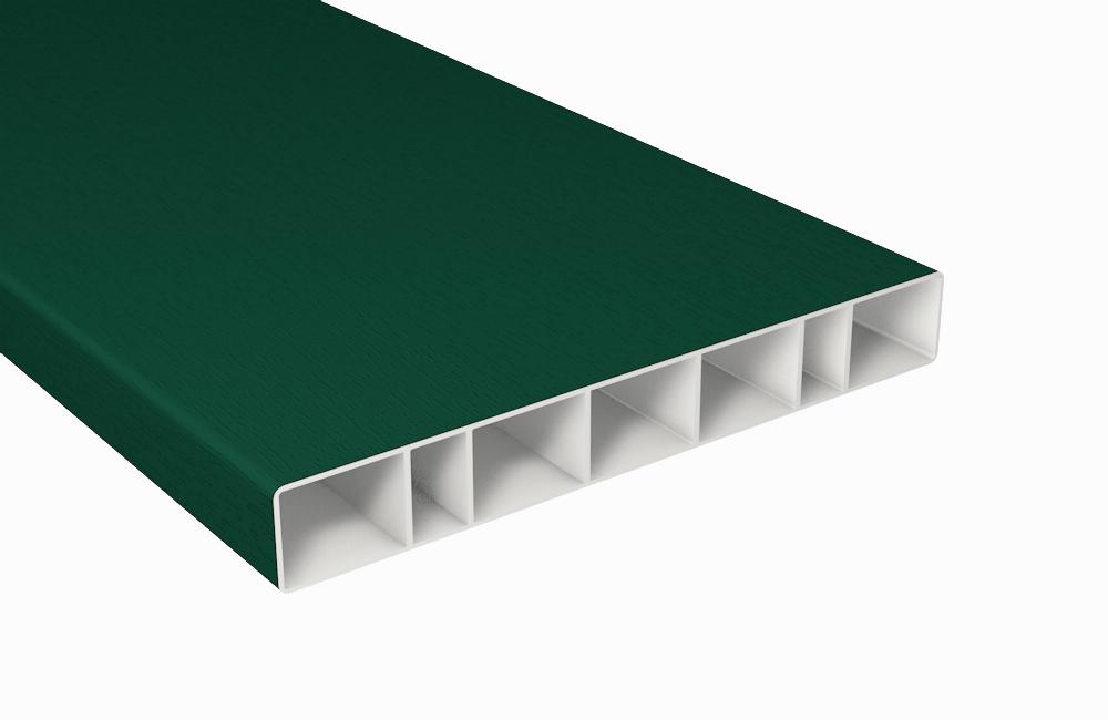 moosgr n balkonbrett kunststoff moosgr n hohlkammerprofil b150xt20 mm. Black Bedroom Furniture Sets. Home Design Ideas