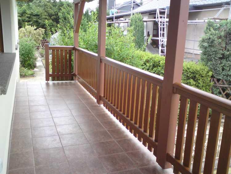 golden oak profile balkonbrett kunststoff golden oak. Black Bedroom Furniture Sets. Home Design Ideas