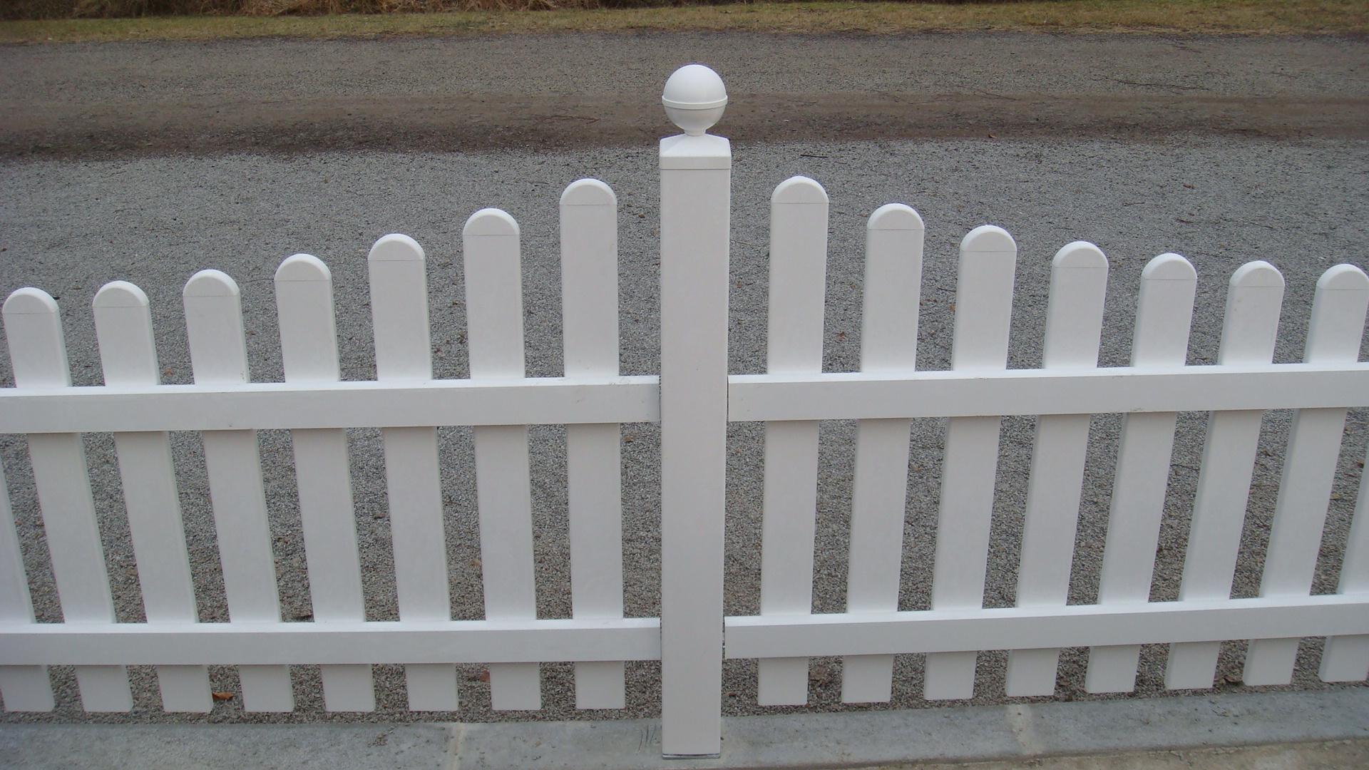 Weiß PVC Pfosten mit Stahlkern 10x10cm Weiß