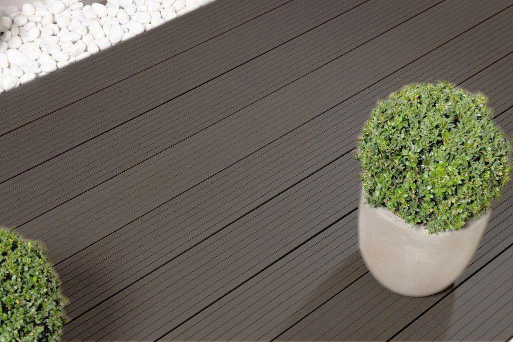 wpc dielen wpc terrassendielen anthrazit 2 m terrassen komplett. Black Bedroom Furniture Sets. Home Design Ideas