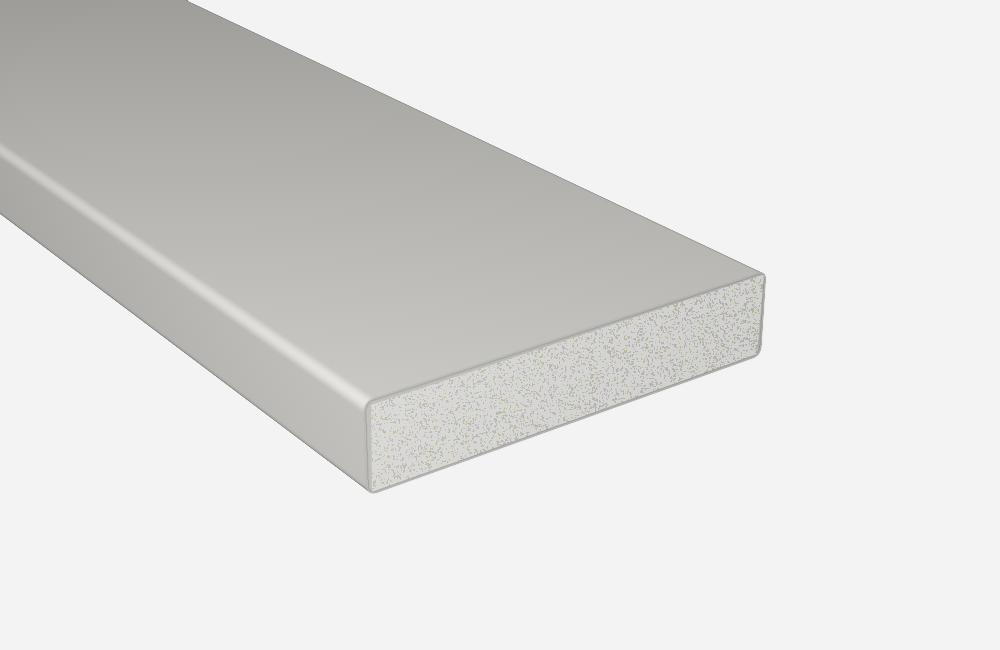 balkonprofile balkonbrett kunststoff wei vollschaumprofil 100x20. Black Bedroom Furniture Sets. Home Design Ideas