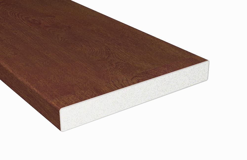 z alt erledigt balkonbrett kunststoff nussbaum vollschaumprofil 200x20. Black Bedroom Furniture Sets. Home Design Ideas