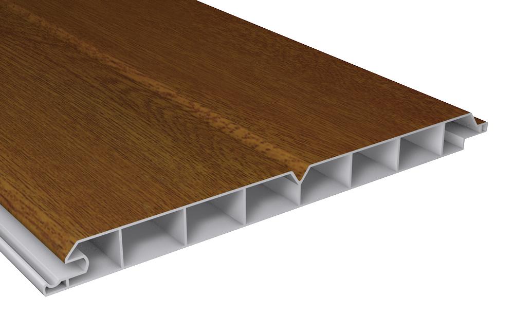 pvc au enpaneele au enverkleidung kunststoff golden oak pvc paneel b200xt17. Black Bedroom Furniture Sets. Home Design Ideas