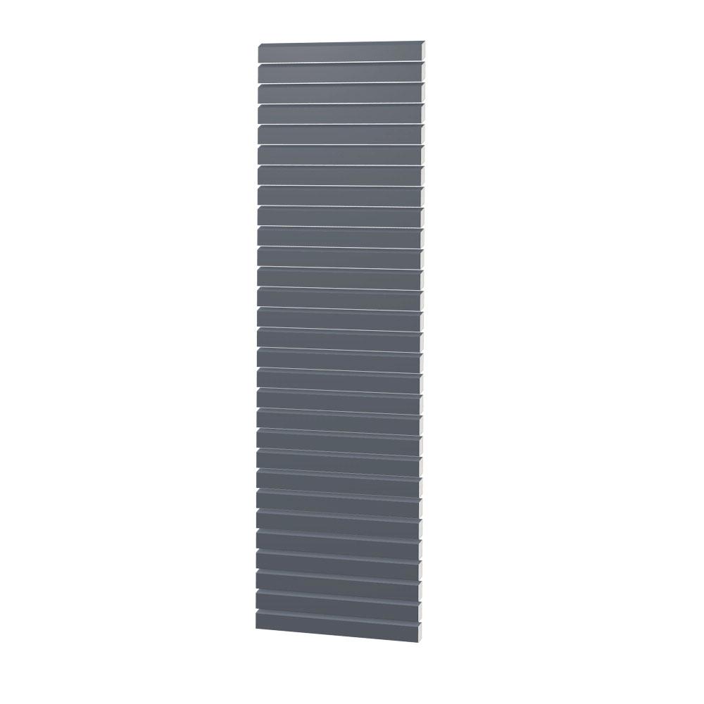 Sichtschutzzaun Metall Rhombus 60x180 Anthrazit