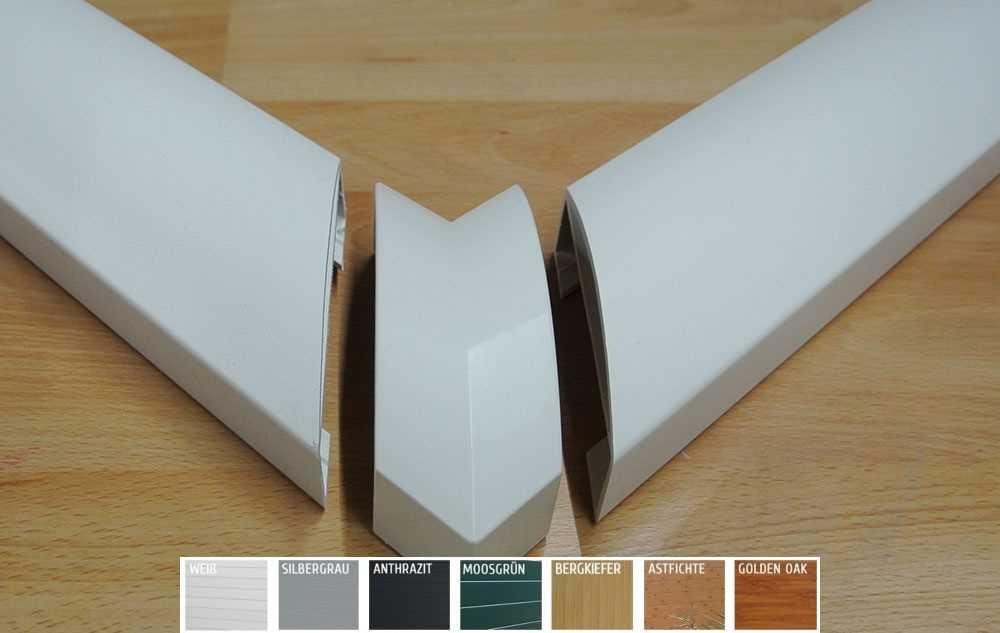 astfichte handlaufverbinder kunststoff astfichte 90. Black Bedroom Furniture Sets. Home Design Ideas