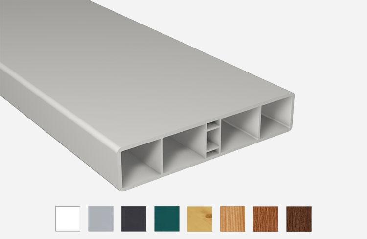 z alt erledigt balkonprofil kunststoff pvc. Black Bedroom Furniture Sets. Home Design Ideas