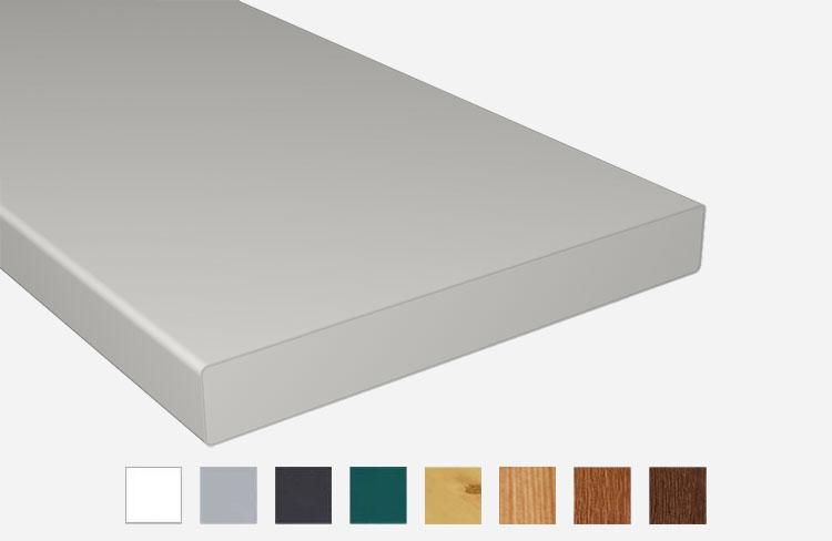 z alt erledigt balkonbrett kunststoff wei vollschaumprofil 200x20. Black Bedroom Furniture Sets. Home Design Ideas