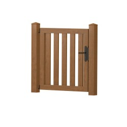 Gartenpforte gerade 90x85cm Golden Oak