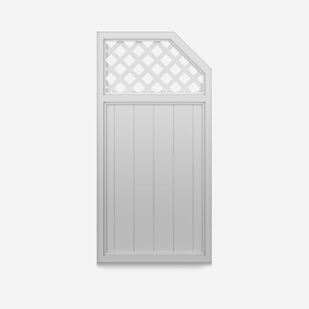 gerade sichtaflex sichtschutzelement kunststoff 1 2. Black Bedroom Furniture Sets. Home Design Ideas