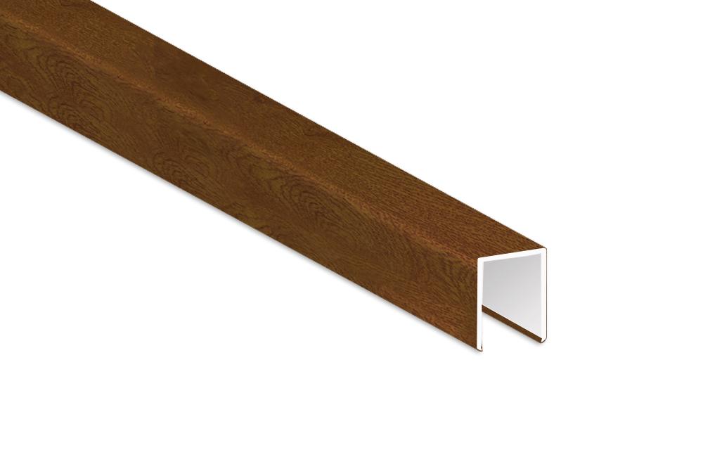 Balkonprofile : Balkonbrett geschwungen | Kunststoff Goldeiche ...