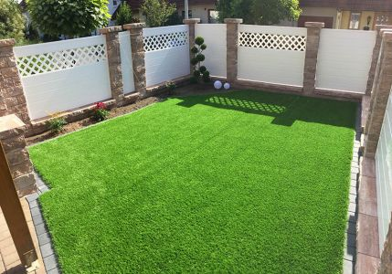 weier sichtschutz vergrert kleine grten - Sichtschutz Garten