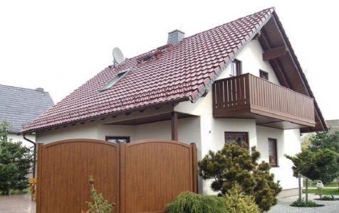 Sichtschutzzaun Aus Kunststoff Gute Alternative Holzzaun , Sichtschutzzäune Auf Maß